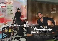 Coupure de presse Clipping 2013 Chantal Thomass & Ora-Ito  (4 pages)