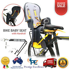 Kids Bicycle Rear Baby Seat Bike for Child Carrier with Handrail Safety Standard