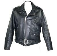 Schott 613 Perfecto Leather Jacket Motorcycle Biker One Star Vintage 70s Size 46