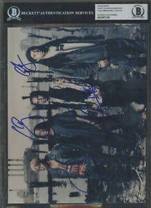 Corey Glover Will Calhoun Doug Wimbish Signed Photo AUTO Autograph BGS BAS #2