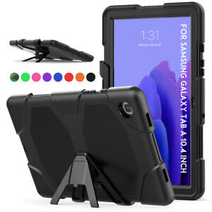 """For Samsung Galaxy Tab A7 10.4"""" Inch 2020 T500 Tablet Military Hybird Stand Case"""