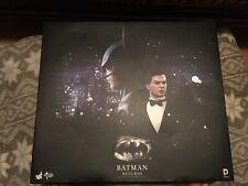 Hot Toys MMS 294 Batman Returns 1/6 Michael Keaton & Bruce Wayne Set (NEW)