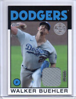 2021 Topps Series 1 Walker Buehler 86' Topps Relic 86R-WB Los Angeles Dodgers