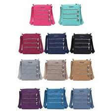 Women Messenger Bag Nylon Casual Shoulderbag Handbag Zipper Crossbody Bags YG