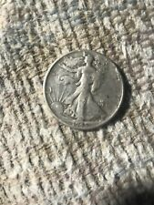 1945 Walking Liberty Half Dollar Coin, 90% Silver, Nice Coin