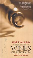 WINES OF AUSTRALIA (Pocket Guide) 2005-2006 James Halliday **GOOD COPY**