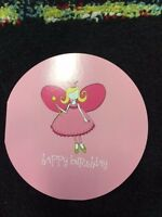 """5 Pack of Paper Eskimo """"Fairy Wishes"""" Happy Birthday Greeting Card"""