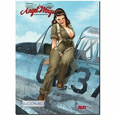 Angel Wings 1 Burma Banshees Hugault COMIC VZA signierter Druck Limitiert 300 Ex