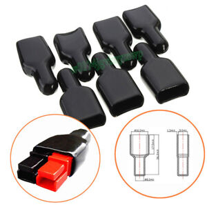10x  FR PVC Cover Flame Retardant Sleeves For Power Powerpole Connector Housing