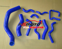 Blue For Nissan Silvia 180SX S13 S14 SR20DET silicone radiator&ancillary hose