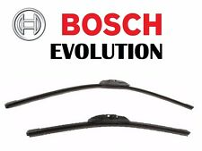 "For Pair Set of 2 Wiper Blade Front Left & Right 26"" & 17"" BOSCH Evolution"