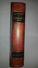 HAWTHORNE ROMANZI   volume 2° Sansoni editore 1959