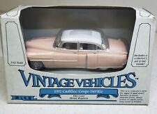 ERTL Vintage Vehicles 1952 Cadillac Coupe DeVille Pink 1:43 Scale NIB