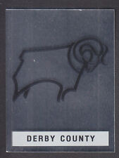 PANINI-FOOTBALL 91-nº 95 Derby FOIL BADGE