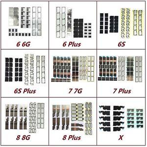 Lot OEM Motherboard Logic Board Heat Shield Sticker For IPhone 6 6S 7 8 Plus X
