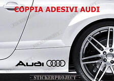 ADESIVI  AUDI FIANCATA 2X STICKERS  A3 A4 A5 A6 Q3 Q5 Q7 TT Sline AUTO