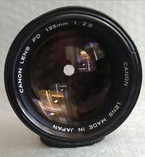 CANON FD 135mm f 2.8