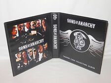 Custom Made Sons Of Anarchy Trading Card Album Binder