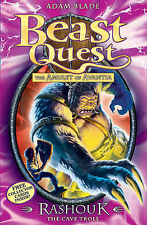Rashouk the Cave Troll by Adam Blade Beast Quest  stock in Australia 1408303787
