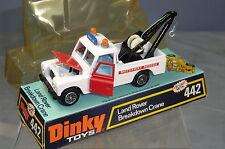 DINKY TOY'S MODEL No.442 LAND ROVER  BREAKDOWN TRUCK  VN MIB