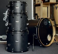 Mapex Mars Nightwood All Black Drum Kit Shell Pack 1 Up 2 Down #603