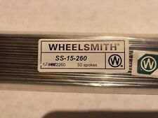 Wheelsmith SS15 260mm Silver spokes Pack Of 50