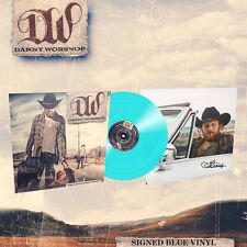 Danny Worsnop 'The Long Road Home' SIGNED Blue Vinyl - NEW asking alexandria
