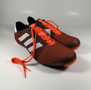 ADIDAS The Road Cycling Shoes Primeweave Solar Red Black Men's Sz 12 *NEW* $200