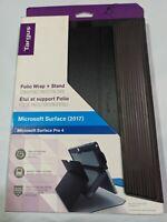 Targus Folio Wrap + Stand Microsoft Surface Pro 4 Case Black