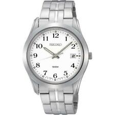 Seiko men watch 7N42 casual stainless steel SGEE47