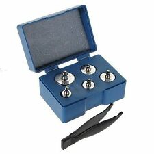 Silver Jewelry Calibration Weight for Pocket Scale - 7pcs, Total 500g