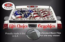 American Deer Buck Snow Rear Window Graphic Decal Sticker Truck Van Car SUV