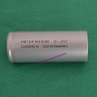 3.2V LiFePO4 IFR26650 high temperature energy type 3200mAh flat cap battery