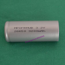 IFR 26650 3.2V LiFePO4 3200mAh high temperature Li-ion rechargeable battery