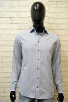 ARMANI COLLEZIONI Camicia Uomo Taglia 41 ( M ) Maglia Camicetta Chemise Shirt