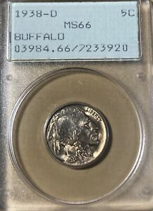 1938-D Rattler! PCGS MS66 Buffalo Nickel