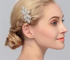 CRISTAL accessoires Diamant Peigne à CHEVEUX STRASS MARIAGE COIFFE 1 pièce