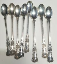 (8) Gorham Buttercup Sterling Silver Iced Tea Spoons 9.1 OZ