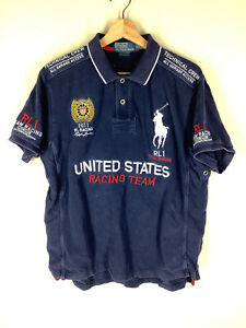 Polo Ralph Lauren 2011 RL United Stats Racing Team Polo XL Extra Large
