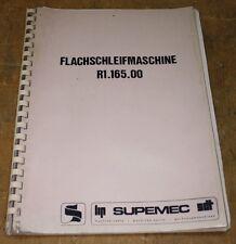 Betriebsanleitung Bedienungsanleitung Flachschleifmaschine - SUPEMEC PM 200