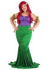 Women's Disney Undersea Little Mermaid Ariel Costume SIZE PLUS 1X (Used)