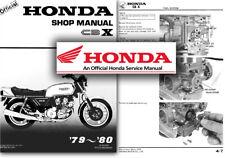 HONDA CBX 1000 PROLINK 1981 Officina Manuale suppletivo SHOP MANUAL addendum