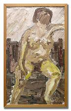 BENGT AXELSON / NUDE - Original Swedish Oil Painting