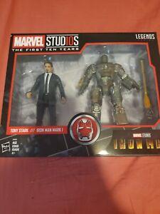 Marvel Legends Marvel Studios The First 10 Years Tony Stark Iron Man Mark I