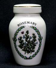 Franklin Mint Porcelain Spice Jars, Gloria Concepts Inc. - Rosemary