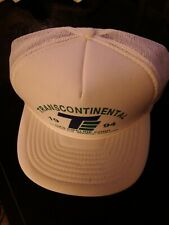 """Transcontinental Gas Pipeline Corp"" white Hat Cap 1994 one size FREE SHIPPING"