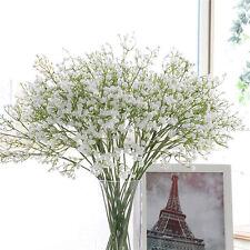 1PC Baby Breath White Gypsophila Silk Wedding Flowers Centerpieces Fillers Decor
