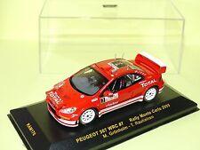 PEUGEOT 307 WRC N°7 RALLYE MONTE CARLO 2005 GRONHOLM IXO RAM170 1:43