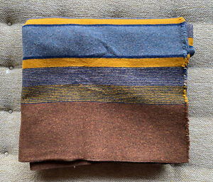 Pendleton Home Collection Yakima Camp Blanket Queen Size High Ridge 90x90 Rare