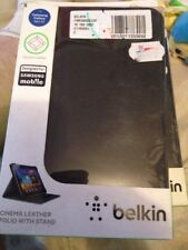 Belkin Samsung Galaxy Tab2 7.0 Black Leather Folio Freepost (BCP)